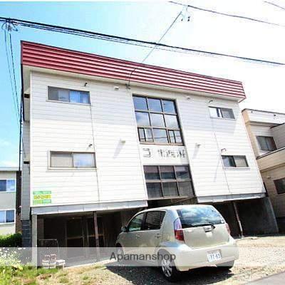 北海道江別市、野幌駅徒歩11分の築34年 2階建の賃貸アパート