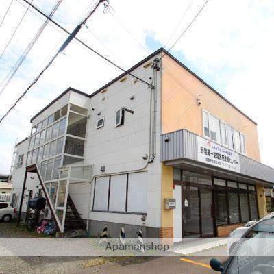 北海道江別市、江別駅中央バスバス14分4番通7丁目下車後徒歩3分の築27年 2階建の賃貸アパート