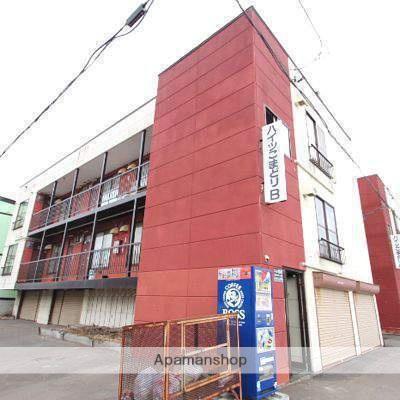 北海道江別市、高砂駅徒歩8分の築22年 2階建の賃貸アパート