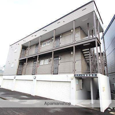 北海道江別市、野幌駅徒歩12分の築30年 2階建の賃貸アパート