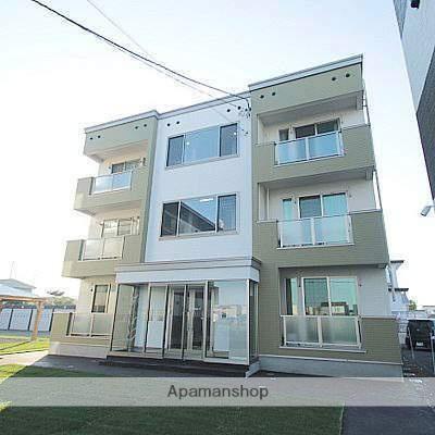 北海道江別市、江別駅徒歩32分の新築 3階建の賃貸アパート