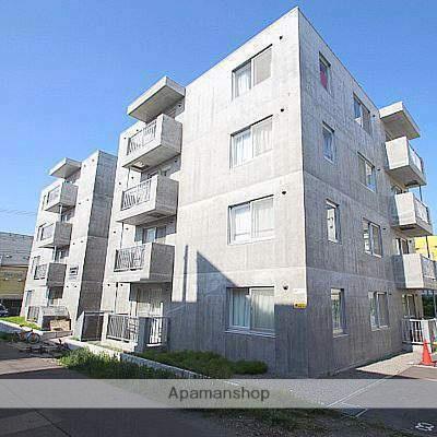 北海道江別市、大麻駅徒歩6分の築6年 4階建の賃貸マンション