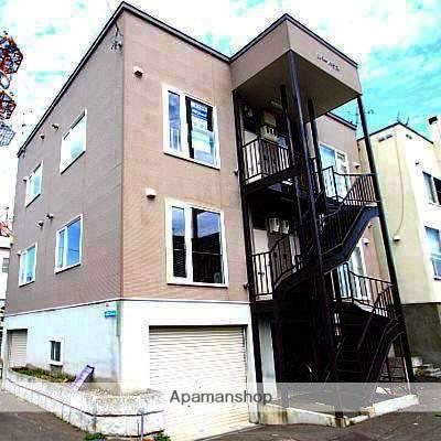 北海道江別市、高砂駅徒歩19分の築15年 3階建の賃貸アパート
