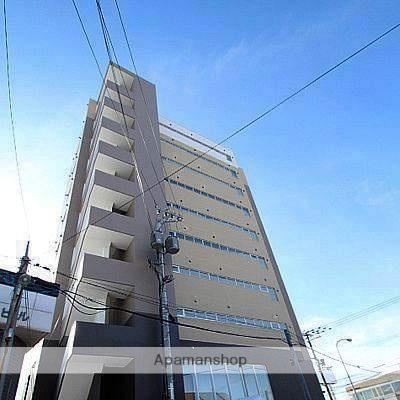 北海道江別市、野幌駅徒歩7分の築5年 10階建の賃貸マンション