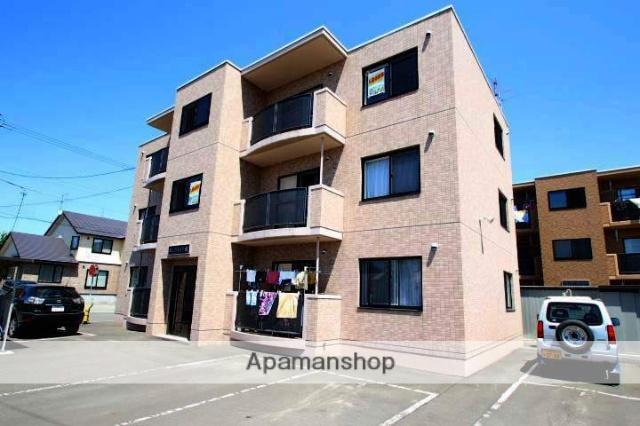 北海道江別市、高砂駅徒歩21分の築13年 3階建の賃貸マンション
