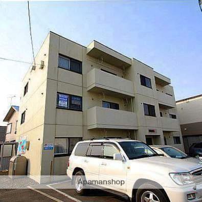 北海道江別市、野幌駅徒歩9分の築12年 3階建の賃貸マンション