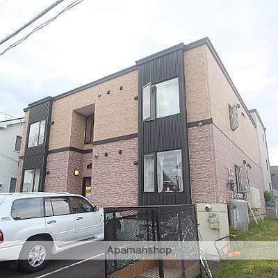 北海道江別市、野幌駅徒歩22分の築21年 2階建の賃貸アパート