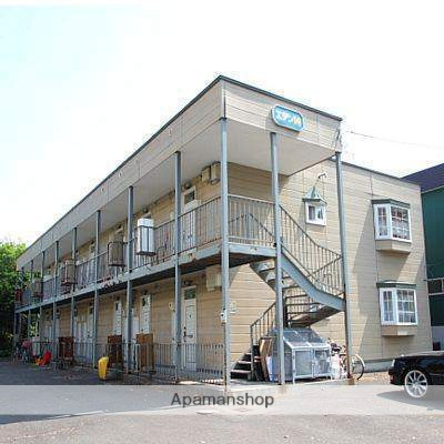 北海道江別市、高砂駅徒歩28分の築27年 2階建の賃貸アパート