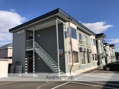 北海道河西郡芽室町の築19年 2階建の賃貸アパート
