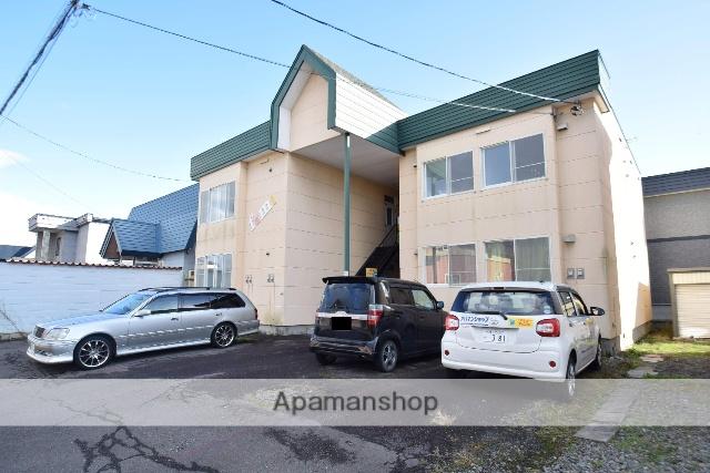 北海道旭川市、東旭川駅徒歩4分の築24年 2階建の賃貸アパート