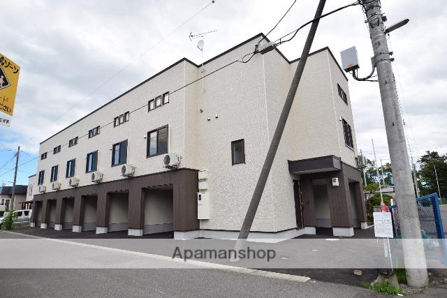 北海道旭川市、新旭川駅徒歩43分の新築 3階建の賃貸アパート