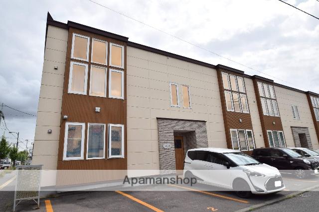 北海道旭川市、旭川駅徒歩36分の築3年 2階建の賃貸アパート