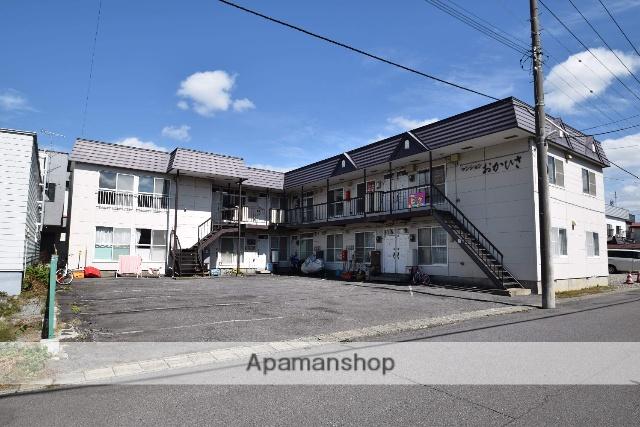 北海道旭川市、緑が丘駅徒歩35分の築26年 2階建の賃貸アパート