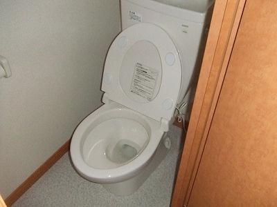 レオパレスマルブル B[1K/23.18m2]のトイレ