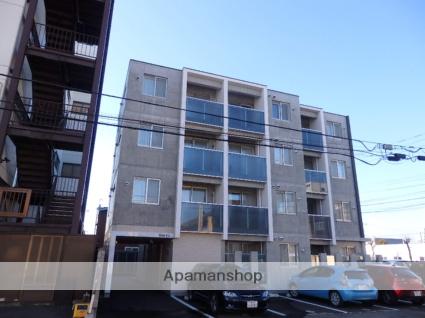 北海道帯広市、帯広駅徒歩8分の新築 4階建の賃貸マンション