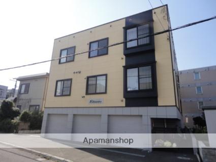 北海道札幌市東区、新道東駅徒歩17分の築11年 3階建の賃貸アパート