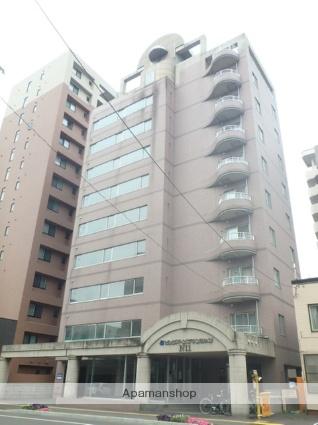 北海道札幌市北区、札幌駅徒歩9分の築25年 10階建の賃貸マンション