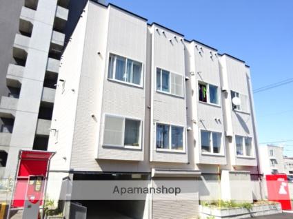 北海道札幌市北区、麻生駅徒歩13分の築19年 2階建の賃貸アパート