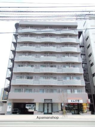 北海道札幌市北区、北24条駅徒歩10分の築28年 8階建の賃貸マンション