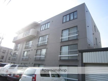 北海道札幌市北区、北34条駅徒歩16分の築18年 4階建の賃貸マンション