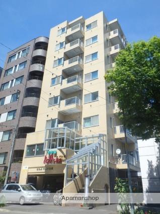 北海道札幌市北区、北18条駅徒歩2分の築23年 8階建の賃貸マンション
