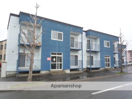 北海道札幌市北区、篠路駅徒歩18分の築12年 2階建の賃貸アパート