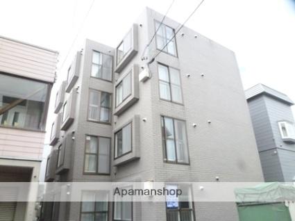 北海道札幌市東区、栄町駅徒歩20分の築28年 4階建の賃貸マンション