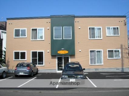 北海道札幌市東区、新道東駅徒歩15分の築10年 2階建の賃貸アパート