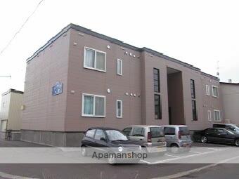 北海道札幌市北区、篠路駅中央バスバス5分篠路9−4下車後徒歩1分の築14年 2階建の賃貸アパート