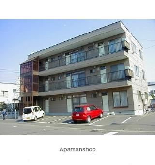 北海道札幌市東区、太平駅徒歩15分の築30年 3階建の賃貸マンション