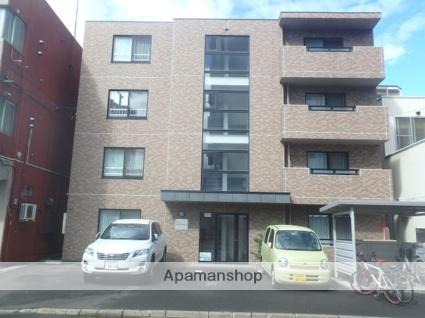 北海道札幌市北区、北18条駅徒歩4分の築10年 4階建の賃貸マンション