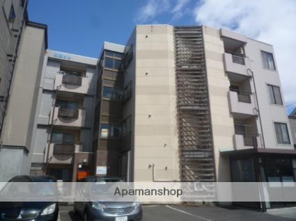 北海道札幌市北区、百合が原駅徒歩11分の築25年 4階建の賃貸マンション
