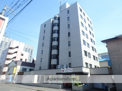 北海道札幌市北区、北12条駅徒歩2分の築28年 8階建の賃貸マンション