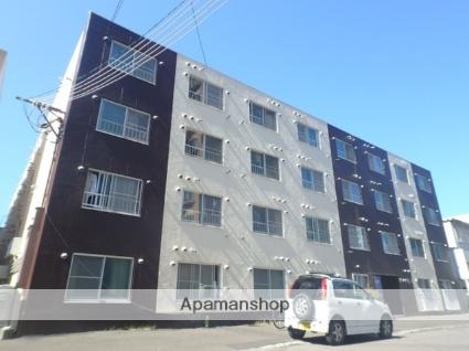 北海道札幌市北区、札幌駅徒歩11分の築28年 4階建の賃貸マンション