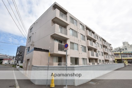 北海道札幌市北区、新川駅徒歩15分の築28年 4階建の賃貸マンション