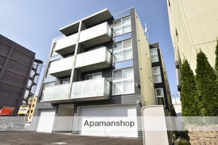 北海道札幌市北区、新琴似駅徒歩15分の築1年 4階建の賃貸マンション