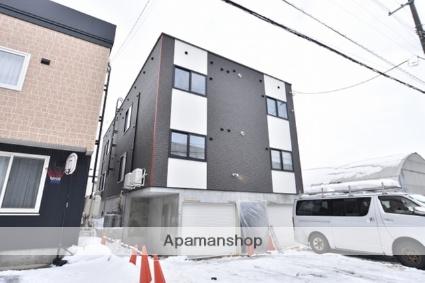 北海道札幌市北区、太平駅徒歩8分の新築 3階建の賃貸アパート