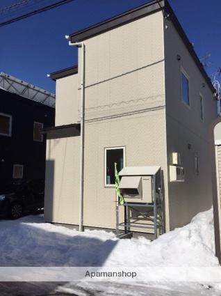 北海道札幌市北区、新川駅徒歩15分の築1年 2階建の賃貸一戸建て