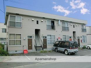 北海道札幌市東区、太平駅徒歩17分の築33年 2階建の賃貸アパート