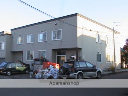 北海道札幌市北区、篠路駅徒歩21分の築25年 2階建の賃貸アパート
