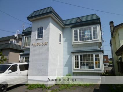 北海道札幌市北区、新川駅徒歩20分の築26年 2階建の賃貸アパート