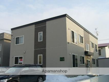 北海道札幌市北区、百合が原駅徒歩14分の築13年 2階建の賃貸アパート
