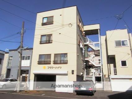 北海道札幌市北区、百合が原駅徒歩12分の築32年 4階建の賃貸マンション