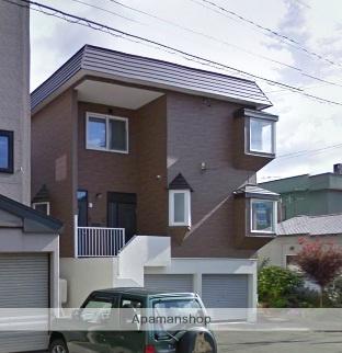 北海道札幌市北区、新川駅徒歩15分の築24年 3階建の賃貸テラスハウス