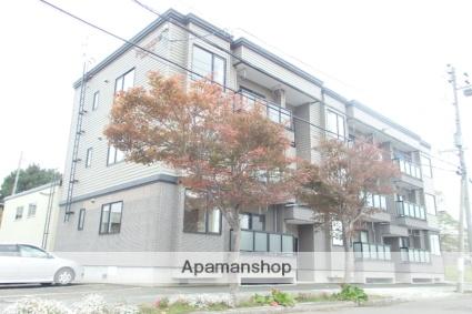 北海道札幌市北区、篠路駅徒歩6分の築13年 3階建の賃貸アパート