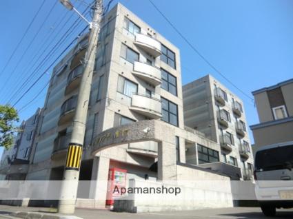 北海道札幌市北区、北18条駅徒歩4分の築25年 5階建の賃貸マンション