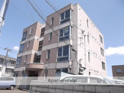 北海道札幌市北区、北34条駅徒歩20分の築26年 4階建の賃貸マンション
