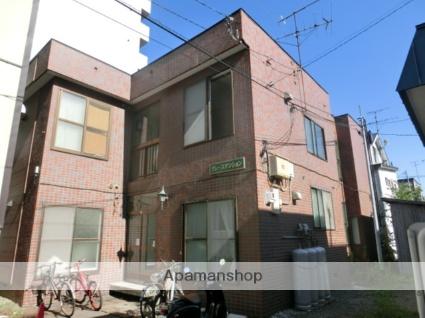 北海道札幌市北区、北34条駅徒歩17分の築31年 2階建の賃貸アパート