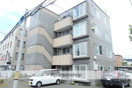 北海道札幌市東区、麻生駅徒歩20分の築25年 4階建の賃貸マンション