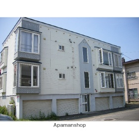 北海道札幌市北区、篠路駅徒歩9分の築27年 3階建の賃貸アパート